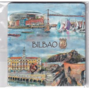 MAGNES NA LODÓWKĘ Bilbao Hiszpania HERB 2420