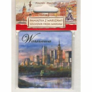 MAGNES NA LODÓWKĘ WARSZAWA AKWARELA 2501