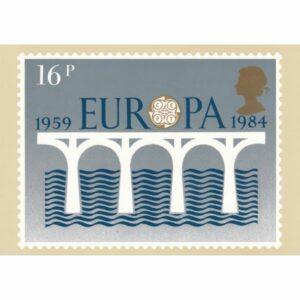 ZNACZEK EUROPA ANGLIA POCZTÓWKA WR9592