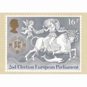 ZNACZEK EUROPA ANGLIA POCZTÓWKA WR9593