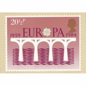 ZNACZEK EUROPA ANGLIA POCZTÓWKA WR9599
