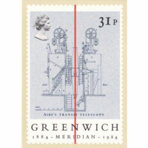ZNACZEK GREENWICH ANGLIA POCZTÓWKA WR9612