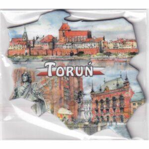 MAGNES NA LODÓWKĘ Toruń FLAGA 2516