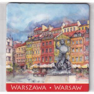 MAGNES NA LODÓWKĘ WARSZAWA SYRENKA 2522