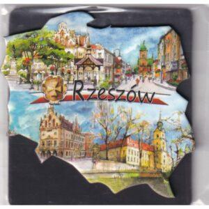 MAGNES NA LODÓWKĘ Rzeszów FLAGA HERB 2545