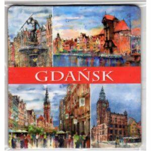 MAGNES NA LODÓWKĘ Gdańsk AKWARELA 2581