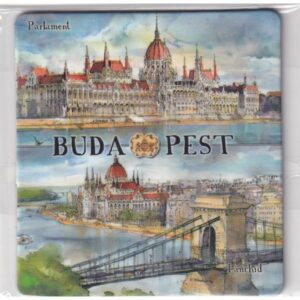 MAGNES NA LODÓWKĘ Budapeszt PARLAMENT WĘGRY 2604