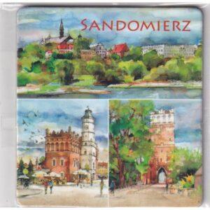 MAGNES NA LODÓWKĘ Sandomierz AKWARELA 2608