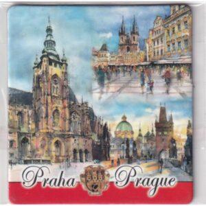 MAGNES NA LODÓWKĘ Praga CZECHY HERB 2612