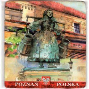 MAGNES NA LODÓWKĘ Poznań GODŁO POLSKA 2652