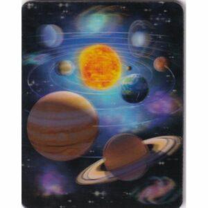 MAGNES 3D TRÓJWYMIAROWY kosmos UKŁAD SŁONECZNY 2856