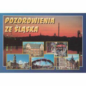 ŚLĄSK WIDOKÓWKA A74779