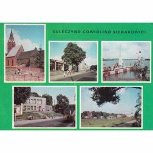 SIERAKOWICE GOWIDLINO SULĘCZYNO WIDOKÓWKA A75319
