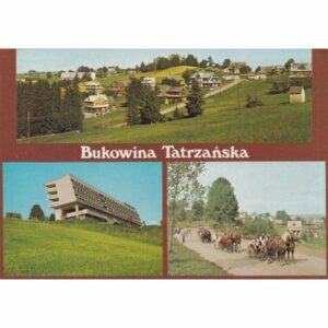 BUKOWINA TATRZAŃSKA WIDOKÓWKA A76245
