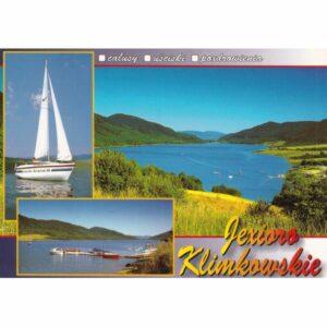 JEZIORO KLIMKOWSKIE WIDOKÓWKA WR10534