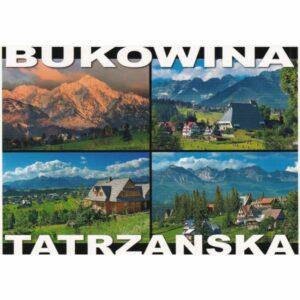BUKOWINA TATRZAŃSKA WIDOKÓWKA WR10563