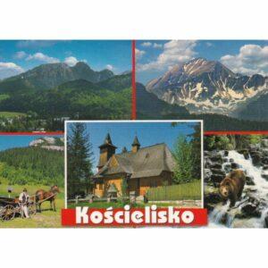 KOŚCIELISKO WIDOKÓWKA WR10569