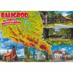 BALIGRÓD MAPKA WIDOKÓWKA WR10850