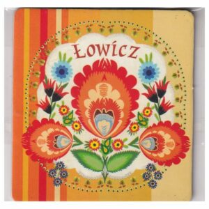MAGNES NA LODÓWKĘ POLSKA FOLKLOR ŁOWICZ 3539