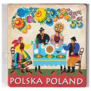 MAGNES NA LODÓWKĘ POLSKA FOLKLOR 3541