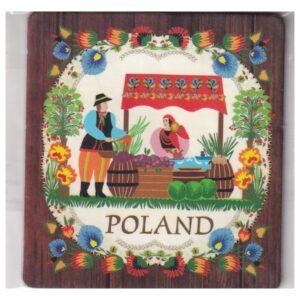 MAGNES NA LODÓWKĘ POLSKA FOLKLOR 3542
