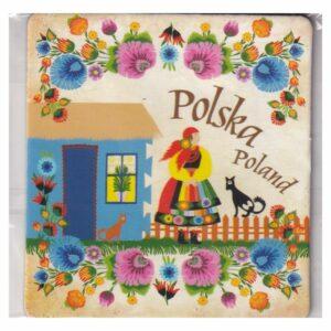 MAGNES NA LODÓWKĘ POLSKA FOLKLOR 3544