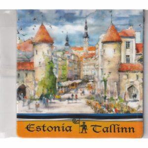 MAGNES NA LODÓWKĘ TALLINN ESTONIA 3566