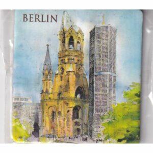 MAGNES NA LODÓWKĘ BERLIN NIEMCY AKWARELA 3579