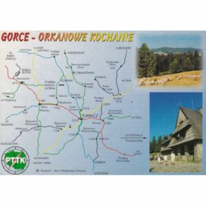 GORCE MAPKA WIDOKÓWKA A77592